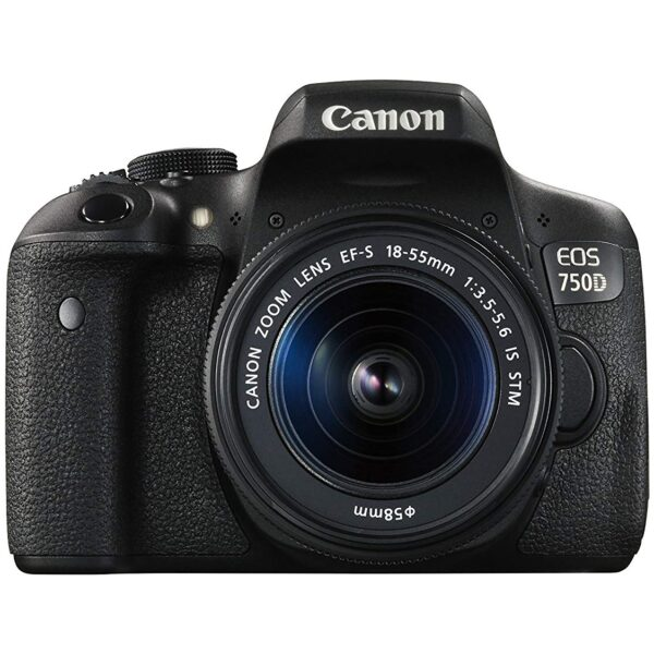 Canon 750D DSLR Camera with 18-55mm Lens