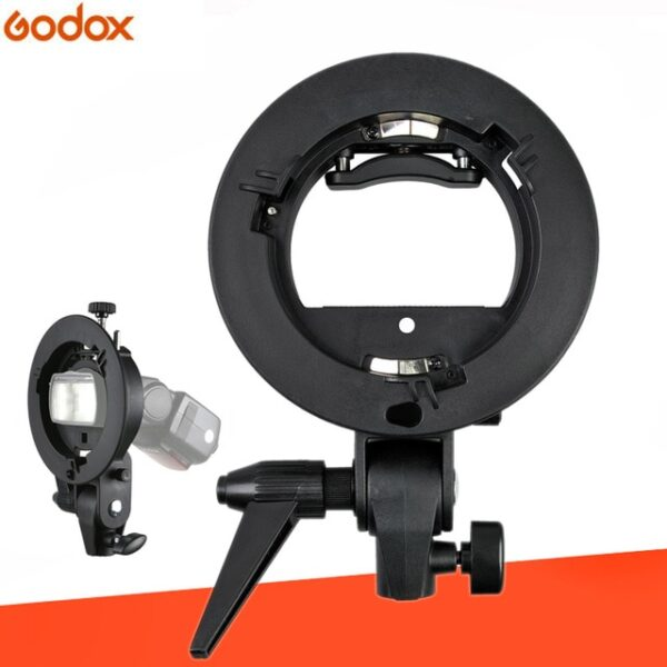 Godox S-type Bracket Bowens S Mount Holder for T+L Speed Ring Softbox Speedlite Softbox Beauty Dish Reflector Umbrella