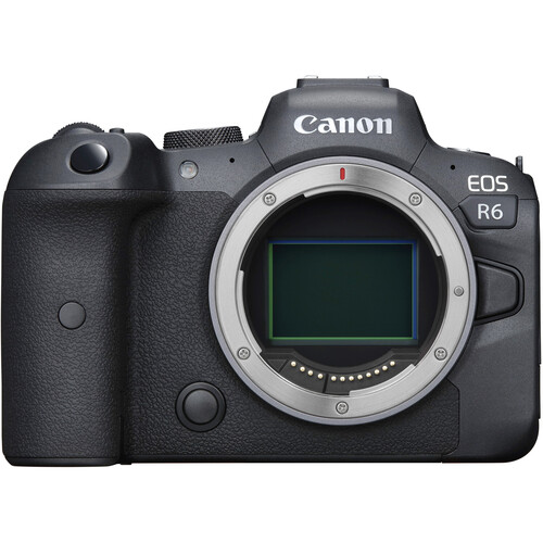 Canon EOS R6 Mirrorless Digital Camera with RF 100-500mm f/4.5-7.1L IS USM Lens
