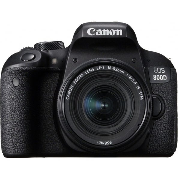 Canon EOS 800D With 18-55 STM
